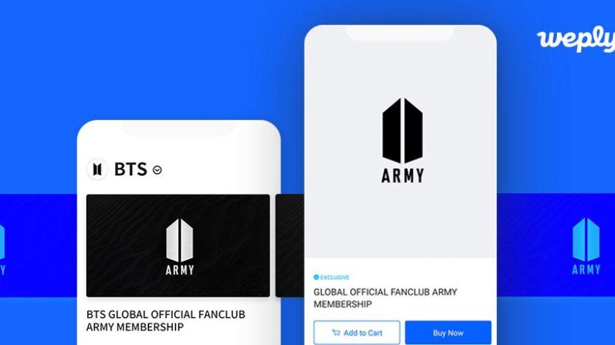 【BTS】グローバルファンクラブ登録方法まとめ:GLOBAL ARMY MEMBERSHIPに誰でも登録できるようになった!