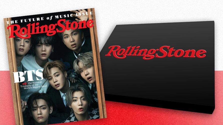Rolling Stone BTSが表紙インタビュー!購入方法をまとめました。